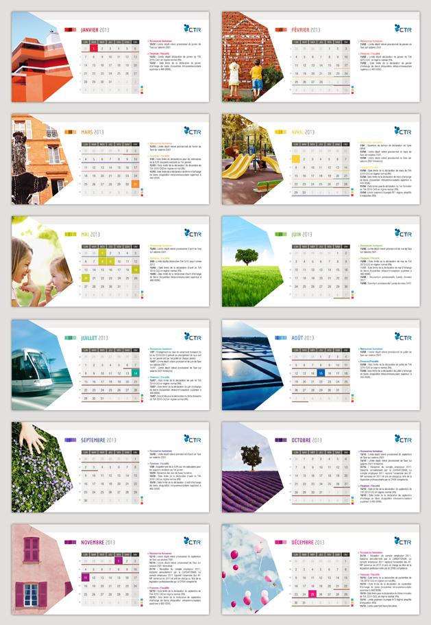Design graphique - Calendrier design ...